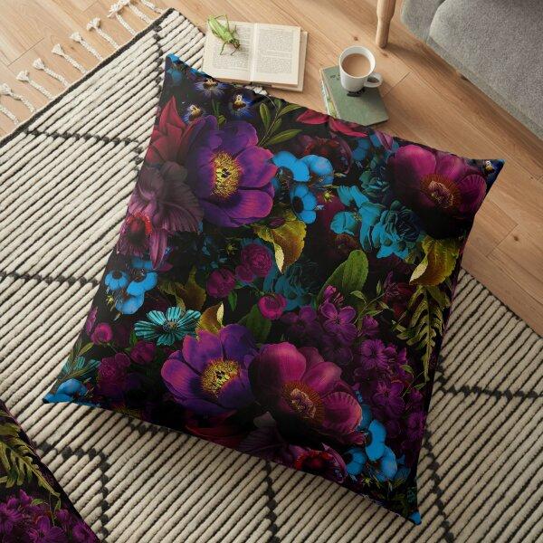 Mystical night III Floor Pillow