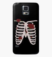 Rebell rote Nelke Hülle & Skin für Samsung Galaxy