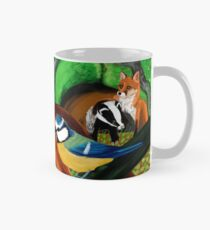 Of foxes and badgers Taza clásica