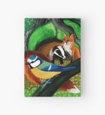 Of foxes and badgers Cuaderno de tapa dura