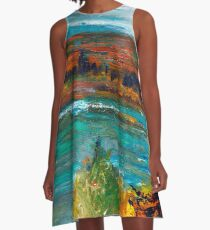 Wild taiga A-Line Dress