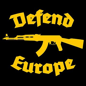 defend europe immigrant islam by untagged-shop