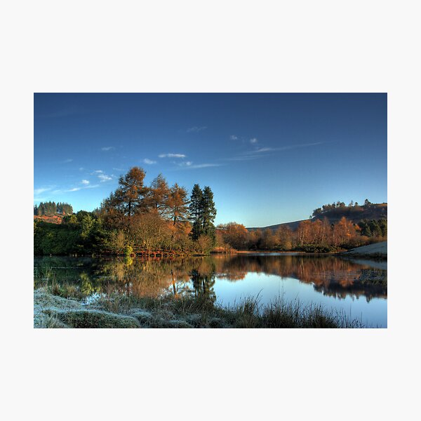 Autumn Reflections II Photographic Print