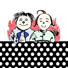 PEOPLE Max and Moritz Wilhelm Busch funny characters #Lausbuben #Humor by Mauswohn