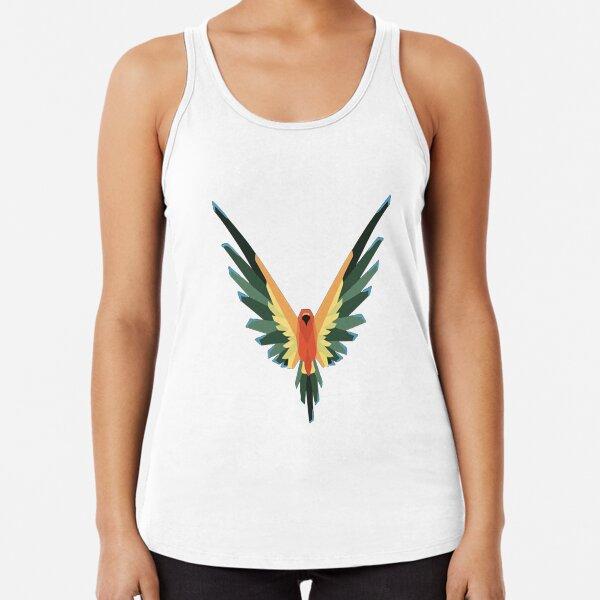 Maverick Para Mujer Camiseta colorido Loro Logan Paul youtuber Damas Top Tee Tshirt