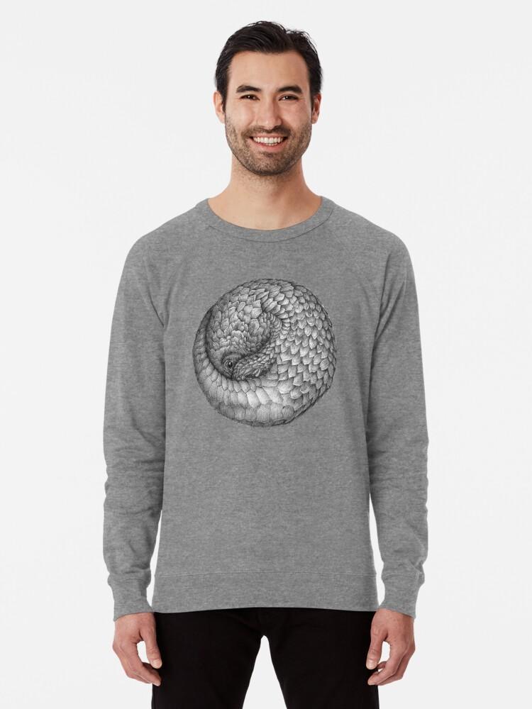 Alternate view of The Infinite Pangolin Lightweight Sweatshirt