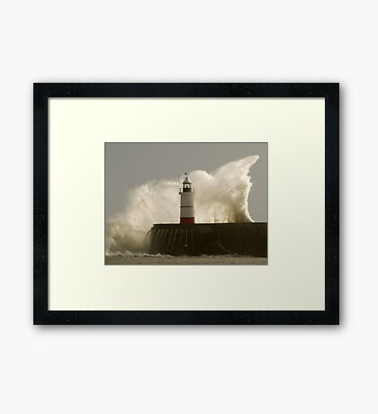Another Storm ,Another Day Framed Print