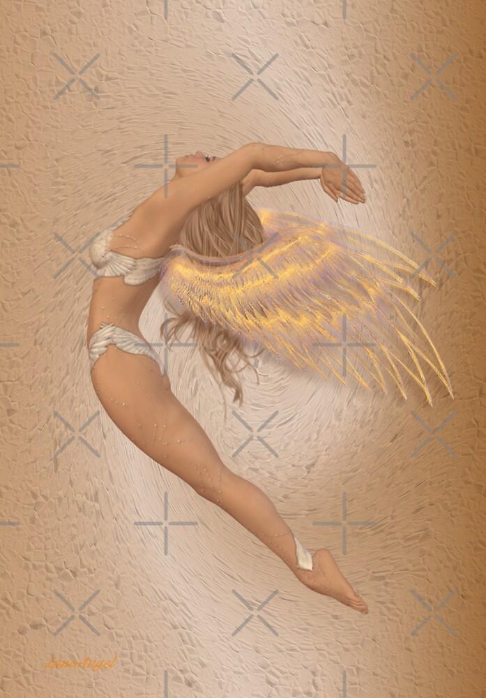 Angel in Flight by LoneAngel