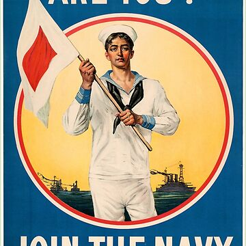 Join the Navy - World War I Posters by NativeAmerica