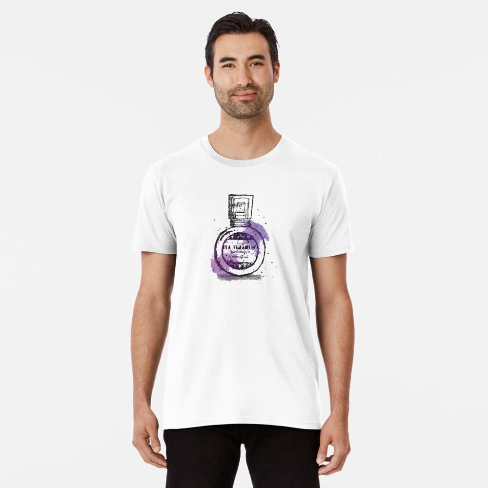 La Villanelle Perfume Watercolour Print Premium T-Shirt