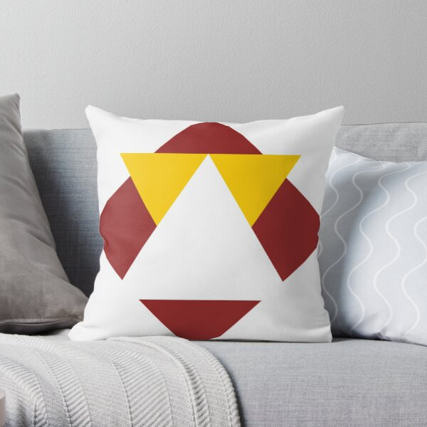 Triangle Shapes Throw Pillow