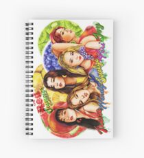 "Red Velvet ""Red Summer"" Spiral Notebook"