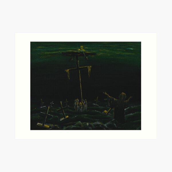 Above death Art Print