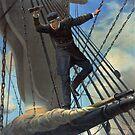 Portrait of Admiral Farragut by Vintage Works