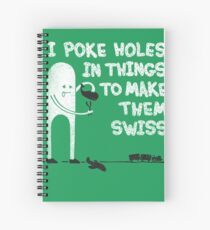 Swiss Happens! Spiral Notebook