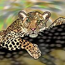 Pop art leopard 1 (all styles animals series) by Marilyns