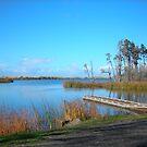 Garrison Lake, Port Orford by Bryan D. Spellman