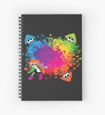 Splatoon - Ink Burst Spiral Notebook