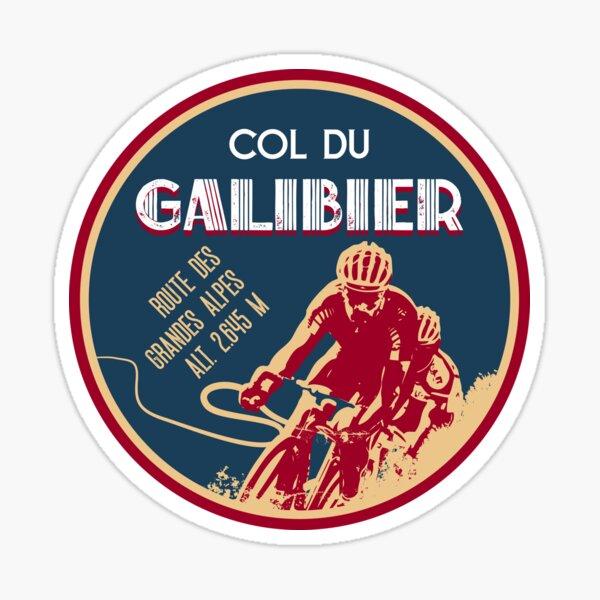 Col du Galibier 05 T-shirt + autocollant vélo - Route des Grandes Alpes Sticker