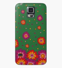 Retro Blooming  Case/Skin for Samsung Galaxy