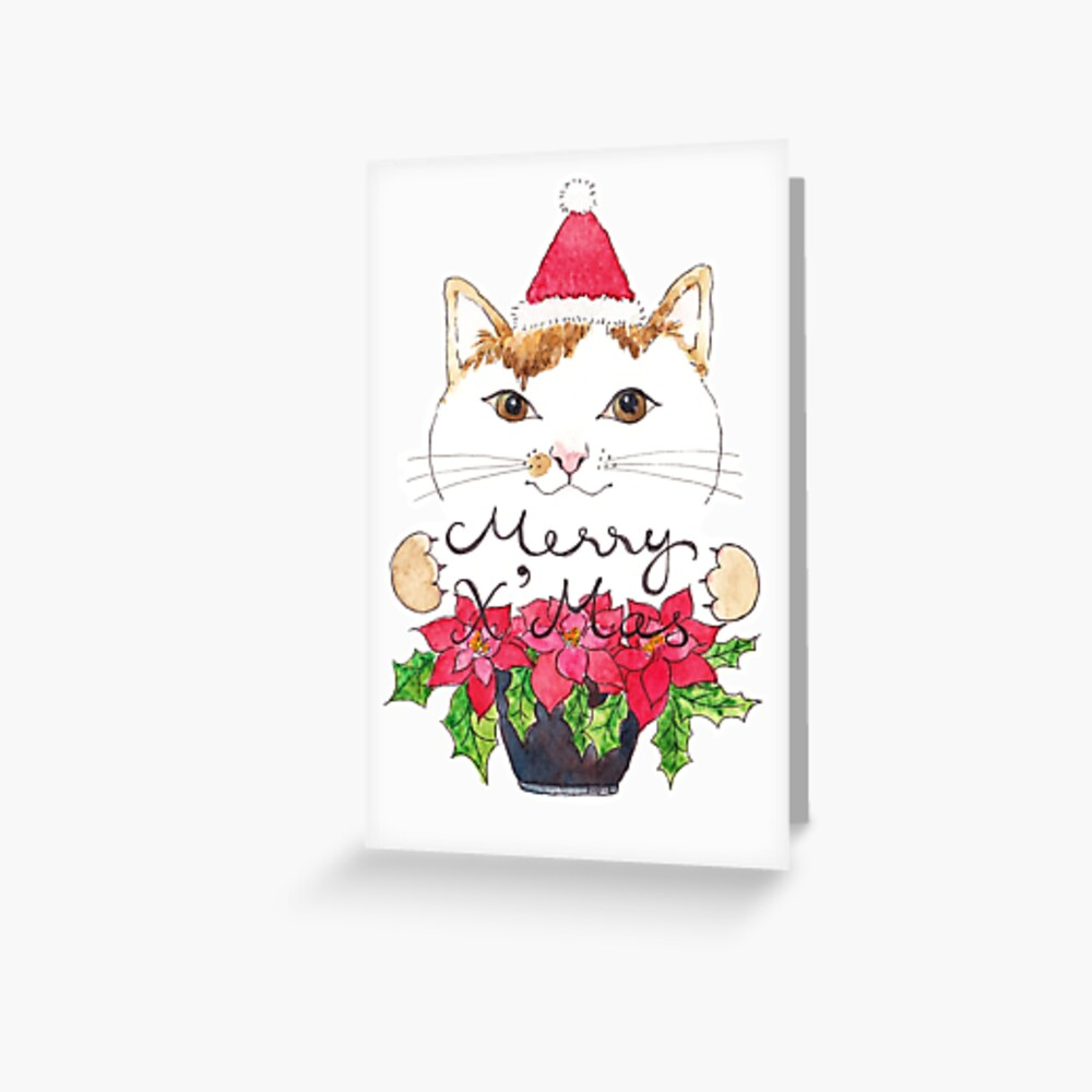 Merry Catsmas 2018 Greeting Card