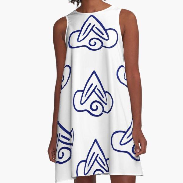 #illustration #symbol #sign #design art vector sketch scribble element shape A-Line Dress