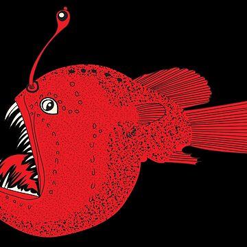 deep sea fish by kislev