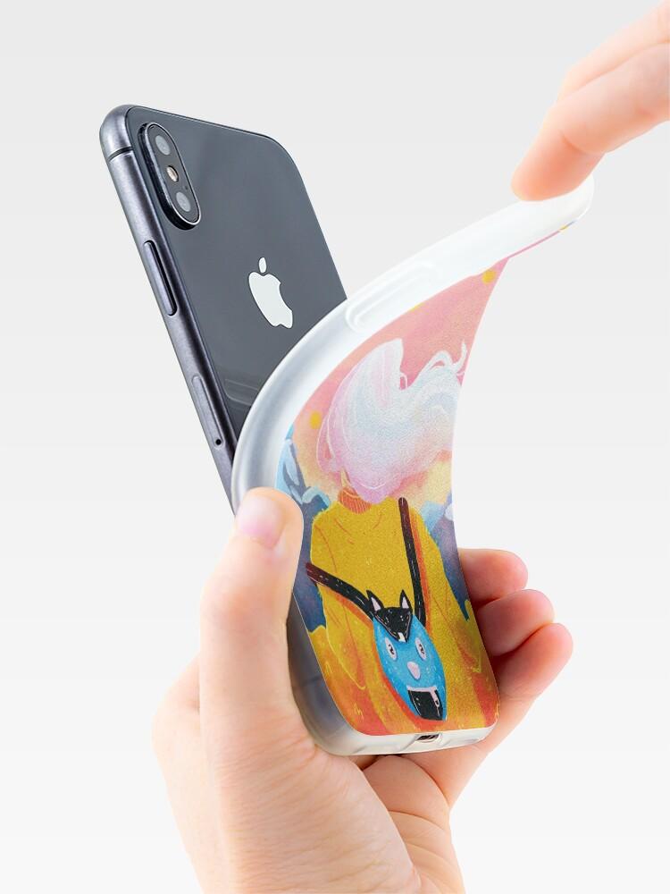 Alternative Ansicht von Friedlich iPhone-Hülle & Cover