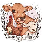 Vegan For The Animals by nevhada