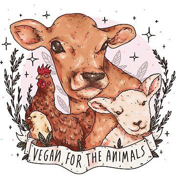 Vegan For The Animals by nevhada