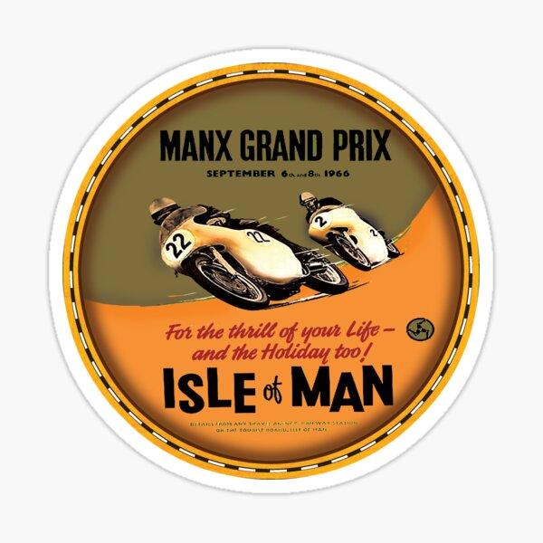 Isle of Man TT Races Sticker