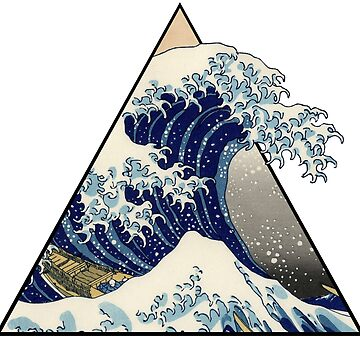 The Great Wave Inspired by HuckleberryArts
