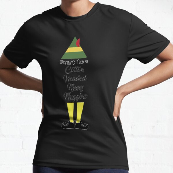 Funny Elf Active T-Shirt