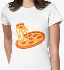 Pizza Women's Fitted T-Shirt