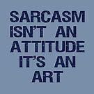 Sarcasm by FrankieCat