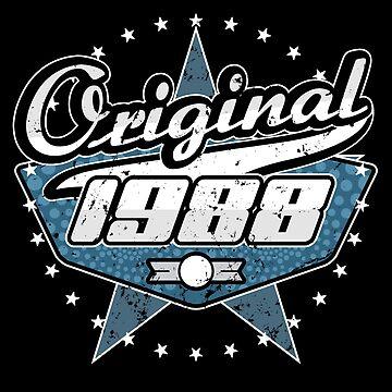 1988 Retro Birthday by S-p-a-c-e
