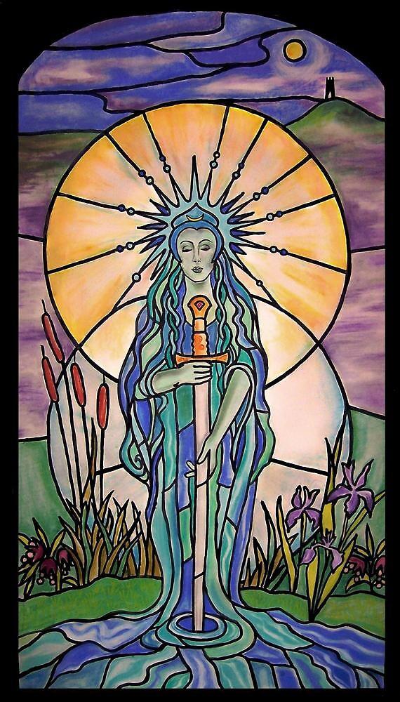 Lady of the Lake by margotmythmaker