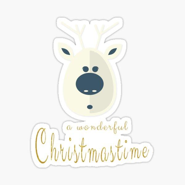 Christmas motive no. 4 Sticker
