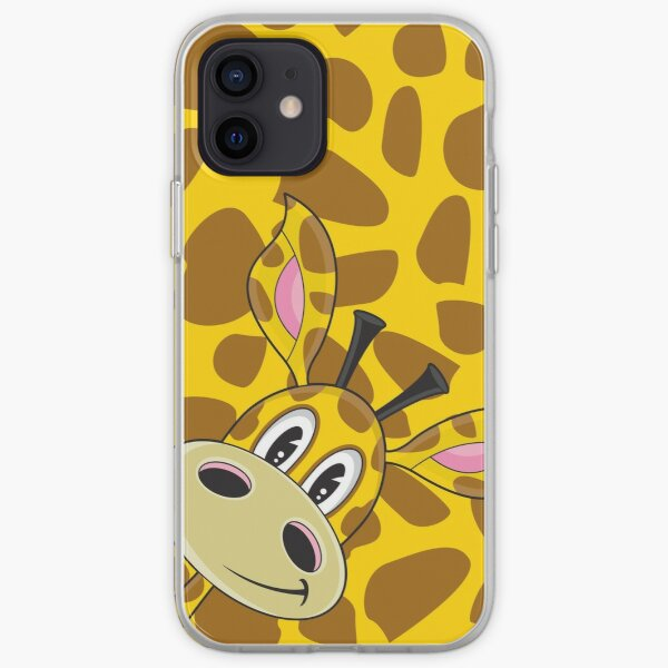 Cute Cartoon Giraffe iPhone Soft Case
