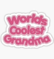 Worlds Coolest Grandma Sticker