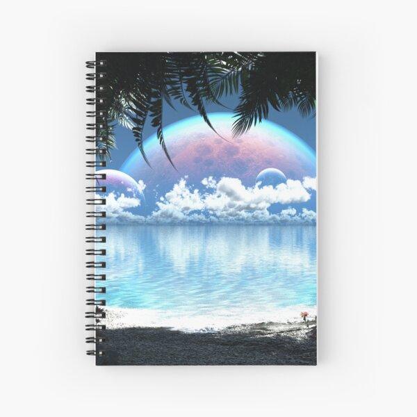 Three Moon Bay (Day) Spiral Notebook
