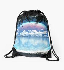 Three Moon Bay (Day) Drawstring Bag