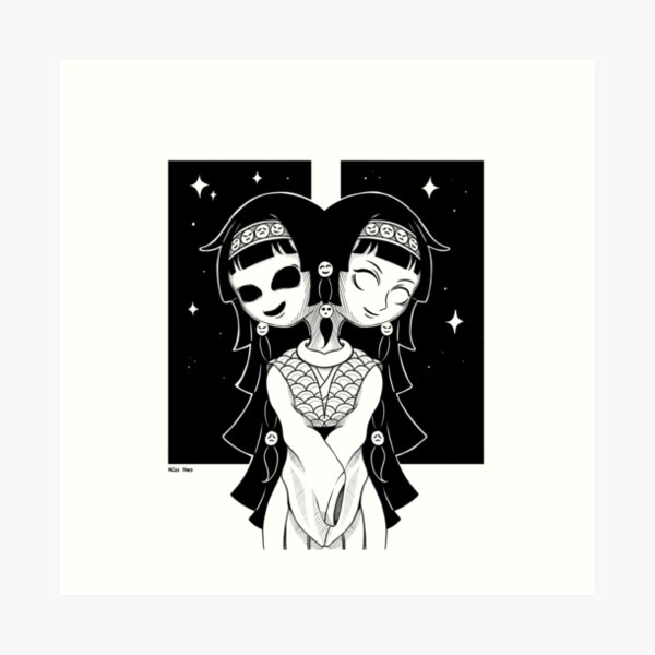 Alluka/Nanika x HunterxHunter Art Print