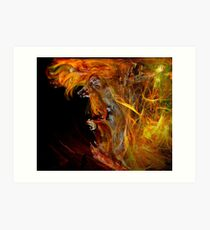 Fire Walk With Me Art Print