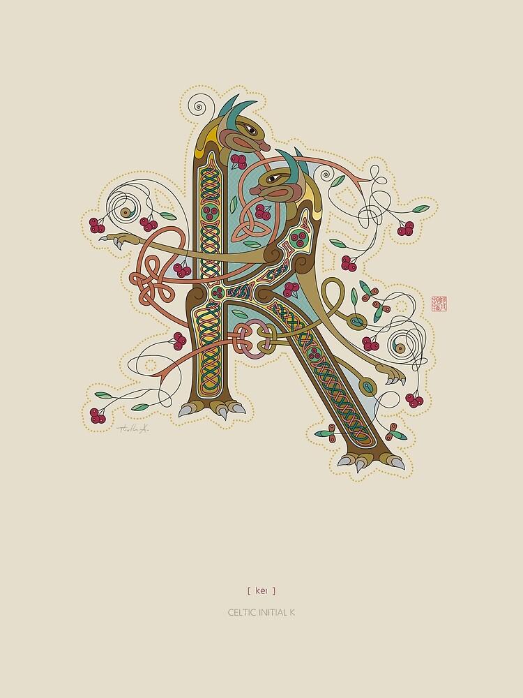 Celtic Initial K  by Thoth-Adan
