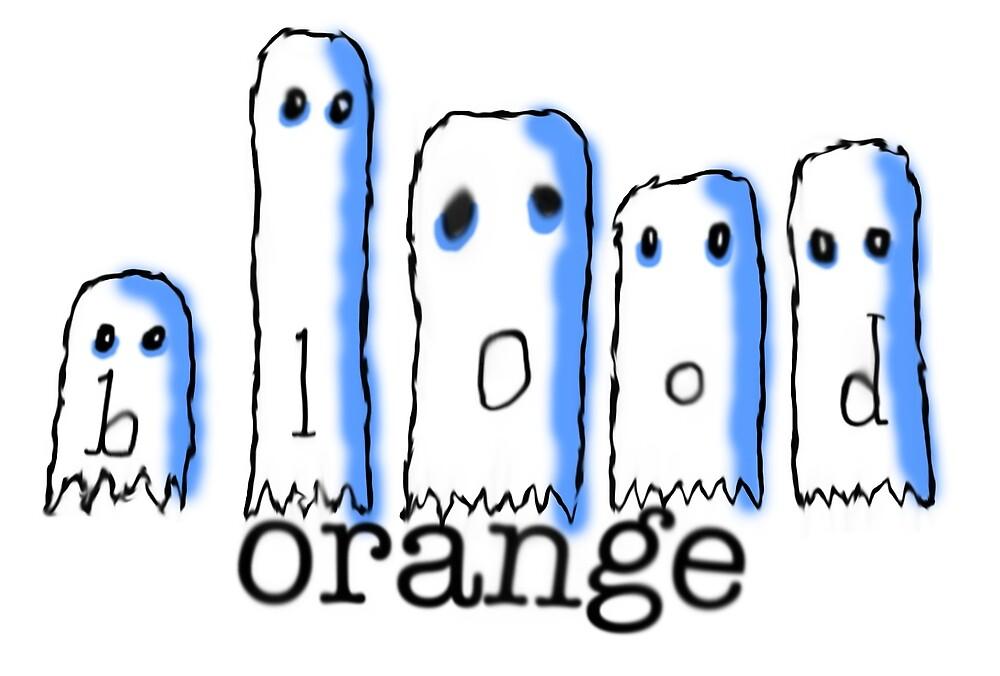 Blood Orange Inky Ghost by bldornjmerch