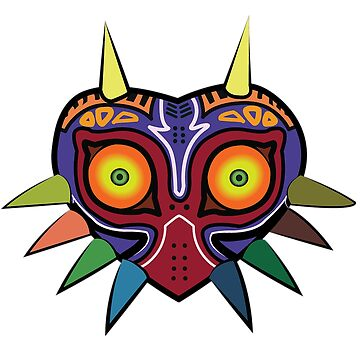 Majora's Mask by HuckleberryArts