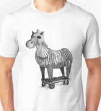 Wooden Horse Unisex T-Shirt