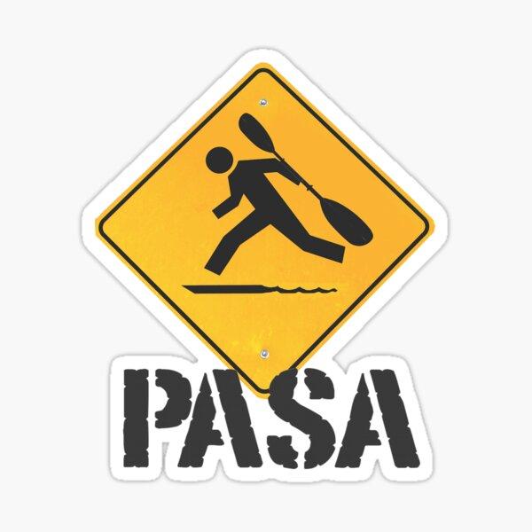 Peninsula Adventure Sports Association Logo Sticker