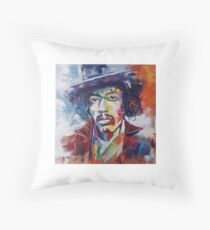 Jimmy Hendrix Throw Pillow